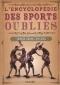 """Couverture du livre : """"L'encyclopédie des sports oubliés"""""""