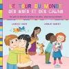 """Couverture du livre : """"Le tour du monde des bises et des câlins"""""""