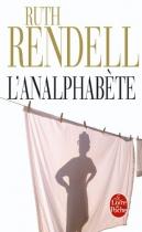 """Couverture du livre : """"L'analphabète"""""""