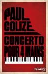 """Couverture du livre : """"Concerto pour quatre mains"""""""