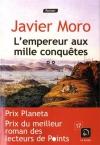 """Couverture du livre : """"L'empereur aux mille conquêtes"""""""