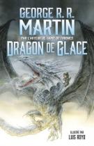 """Couverture du livre : """"Dragon de glace"""""""