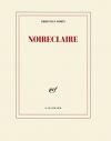 """Couverture du livre : """"Noireclaire"""""""