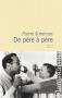 """Couverture du livre : """"De père à père"""""""