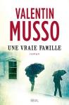 """Couverture du livre : """"Une vraie famille"""""""