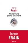 """Couverture du livre : """"Marie Curie prend un amant"""""""