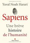 """Couverture du livre : """"Sapiens"""""""