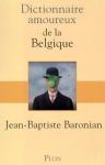 """Couverture du livre : """"Dictionnaire amoureux de la Belgique"""""""