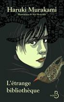 """Couverture du livre : """"L'étrange bibliothèque"""""""