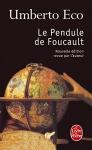 """Couverture du livre : """"Le pendule de Foucault"""""""