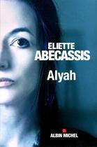 """Couverture du livre : """"Alyah"""""""