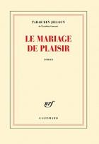"""Couverture du livre : """"Le mariage de plaisir"""""""
