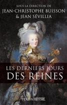 """Couverture du livre : """"Les derniers jours des reines"""""""
