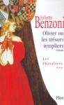 """Couverture du livre : """"Olivier ou les trésors templiers"""""""
