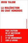"""Couverture du livre : """"La malédiction du chat hongrois"""""""