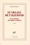 """Couverture du livre : """"Le village de l'Allemand ou Le journal des frères Schiller"""""""
