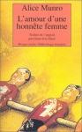 """Couverture du livre : """"L'amour d'une honnête femme"""""""