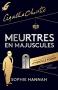 """Couverture du livre : """"Meurtres en majuscules"""""""