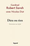 """Couverture du livre : """"Dieu ou rien"""""""