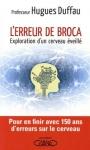 "Couverture du livre : ""L'erreur de Broca"""
