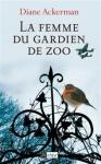 """Couverture du livre : """"La femme du gardien de zoo"""""""