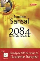 """Couverture du livre : """"2084"""""""