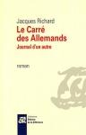 """Couverture du livre : """"Le carré des Allemands"""""""