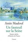 """Couverture du livre : """"Un fauteuil sur la Seine"""""""