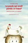 """Couverture du livre : """"La poule qui avait pondu un boeuf"""""""