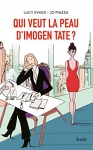 """Couverture du livre : """"Qui veut la peau d'Imogen Tate ?"""""""