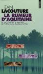 """Couverture du livre : """"La rumeur d'Aquitaine"""""""