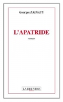"""Couverture du livre : """"L'apatride"""""""
