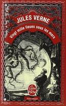 """Couverture du livre : """"Vingt mille lieues sous les mers"""""""