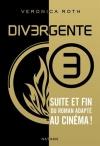 """Couverture du livre : """"Divergente"""""""
