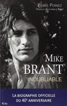 """Couverture du livre : """"Mike Brant, l'inoubliable"""""""