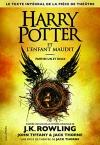 """Couverture du livre : """"Harry Potter et l'enfant maudit"""""""