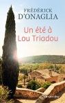 """Couverture du livre : """"Un été à Lou Triadou"""""""