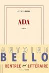 """Couverture du livre : """"Ada"""""""
