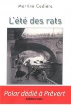 """Couverture du livre : """"L'été des rats"""""""