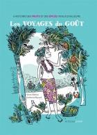 """Couverture du livre : """"Les voyages du goût"""""""
