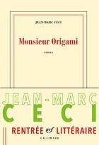 """Couverture du livre : """"Monsieur Origami"""""""