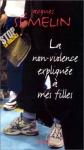 """Couverture du livre : """"La non-violence expliquée à mes filles"""""""