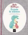 """Couverture du livre : """"Bébé Balthazar écoute le silence"""""""