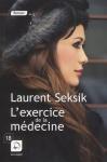 """Couverture du livre : """"L'exercice de la médecine"""""""