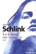 """Couverture du livre : """"La femme sur l'escalier"""""""