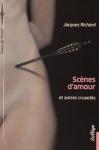 """Couverture du livre : """"Scènes d'amour et autres cruautés"""""""