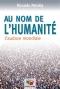 """Couverture du livre : """"Au nom de l'humanité"""""""