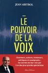 """Couverture du livre : """"Le pouvoir de la voix"""""""
