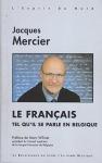 """Couverture du livre : """"Le français tel qu'il se parle en Belgique"""""""