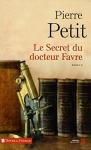"""Couverture du livre : """"Le secret du docteur Favre"""""""